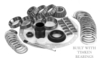 DANA 44 ALUMINUM JEEP FULL INSTALL KIT IK 83-1071J